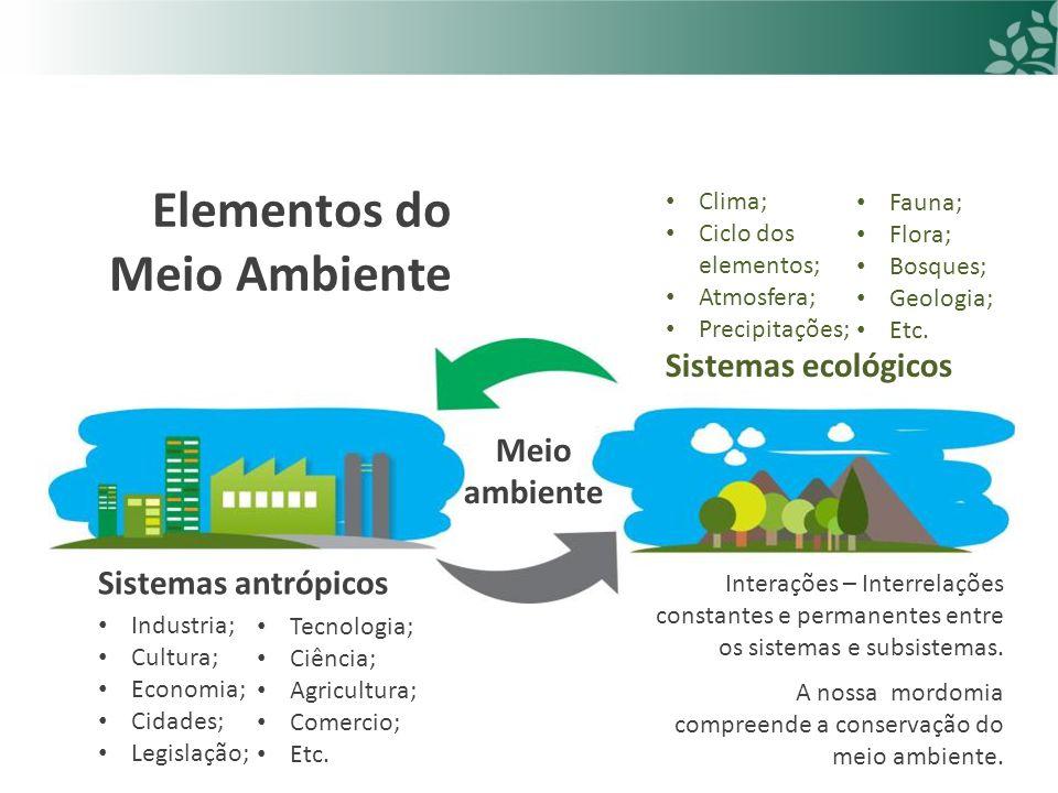 Elementos do Meio Ambiente