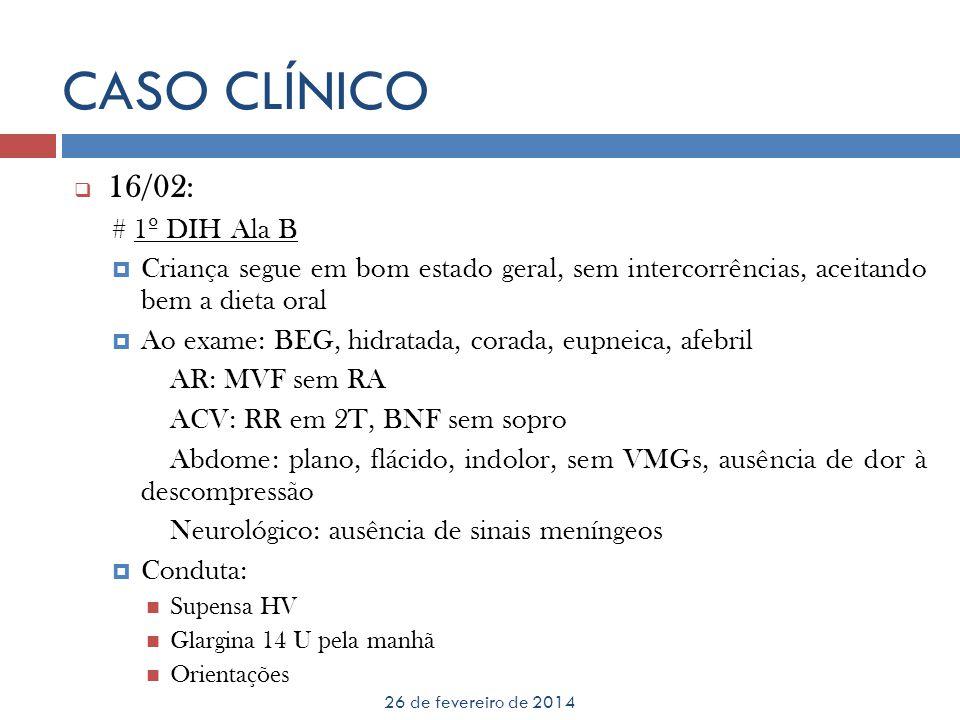 CASO CLÍNICO 16/02: # 1º DIH Ala B