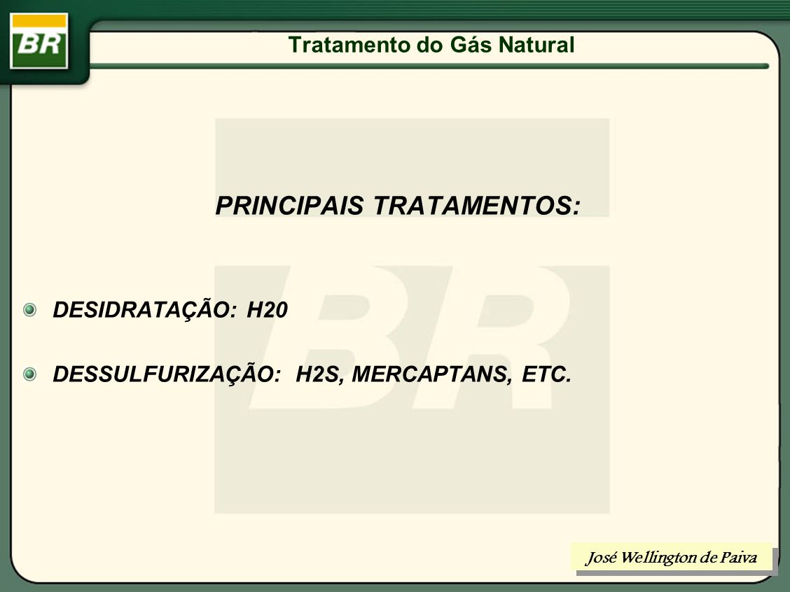 Tratamento do Gás Natural