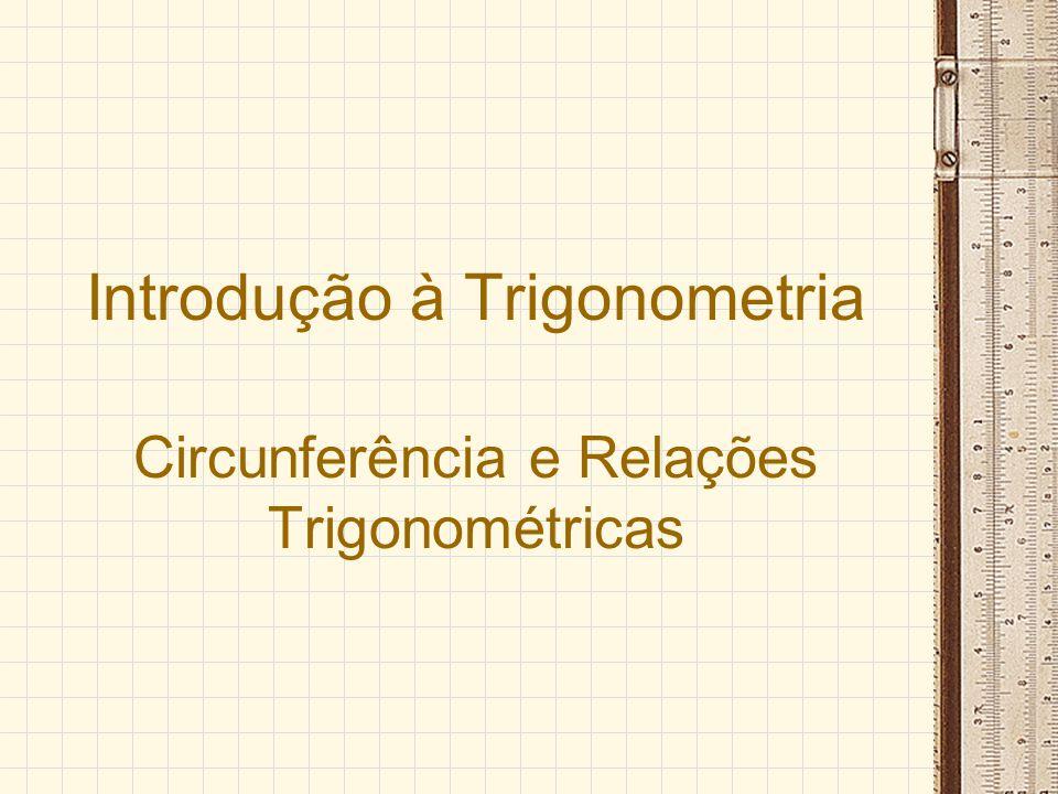 Introdução à Trigonometria
