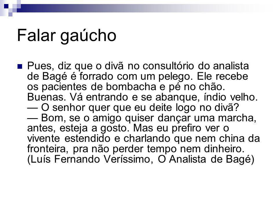 Falar gaúcho