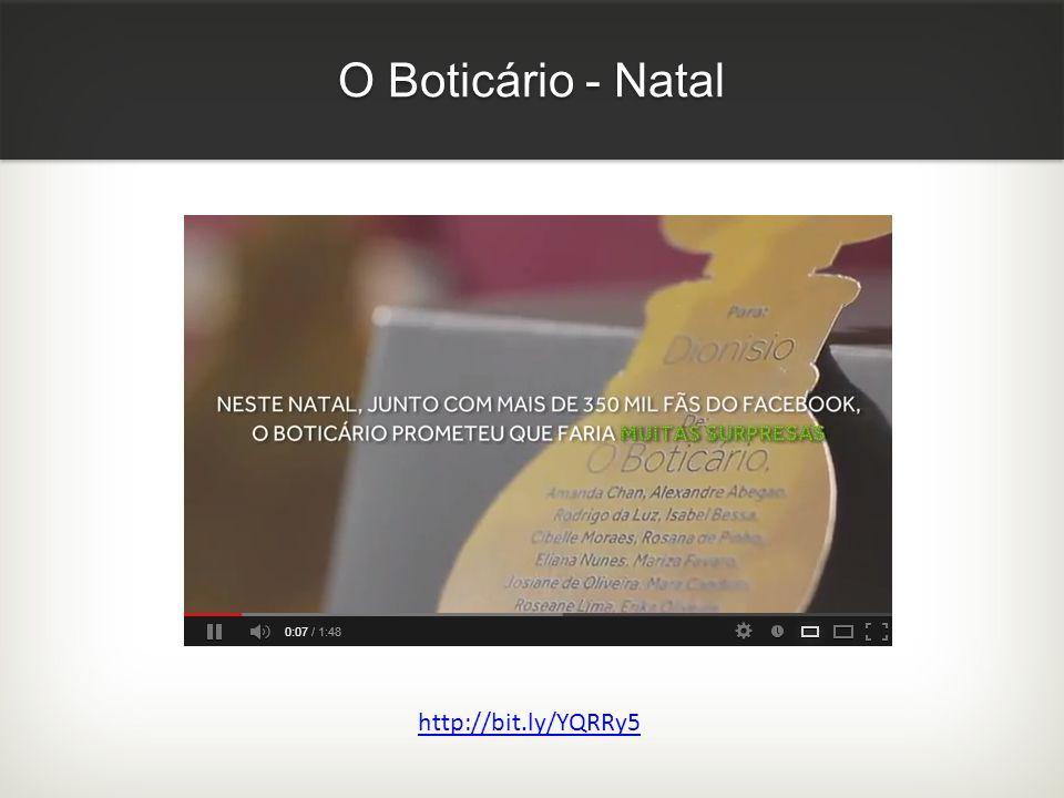 O Boticário - Natal http://bit.ly/YQRRy5