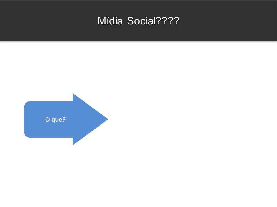 Mídia Social O que