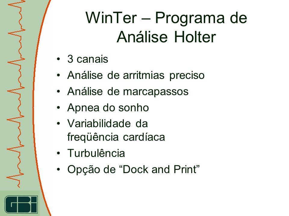 WinTer – Programa de Análise Holter