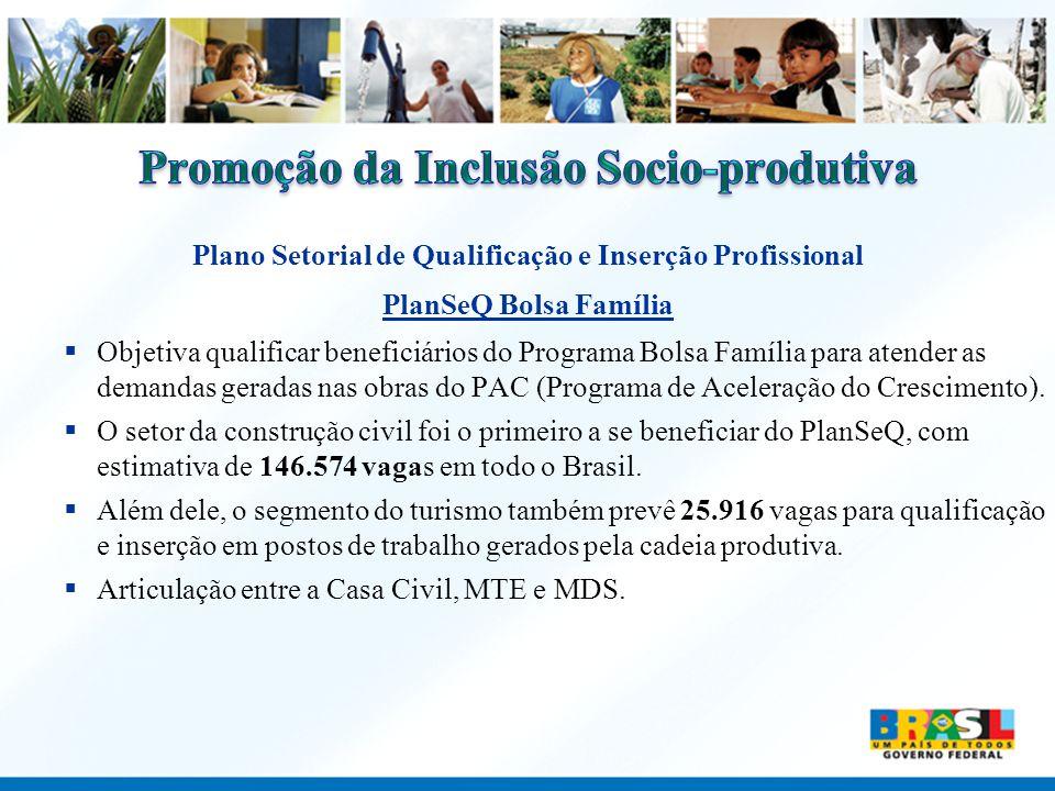 Promoção da Inclusão Socio-produtiva