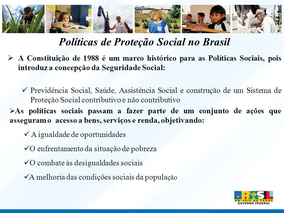 Políticas de Proteção Social no Brasil