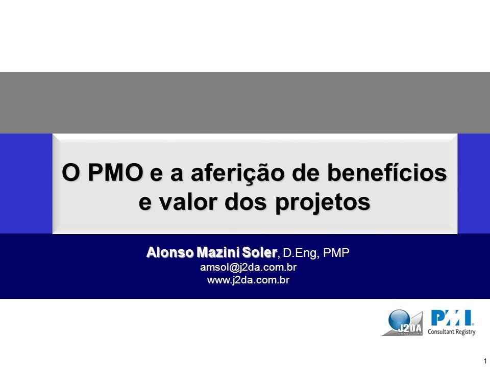 O PMO e a aferição de benefícios e valor dos projetos