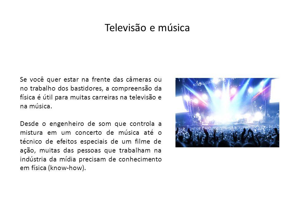 Televisão e música
