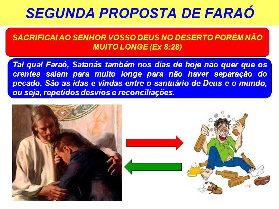SEGUNDA PROPOSTA DE FARAÓ