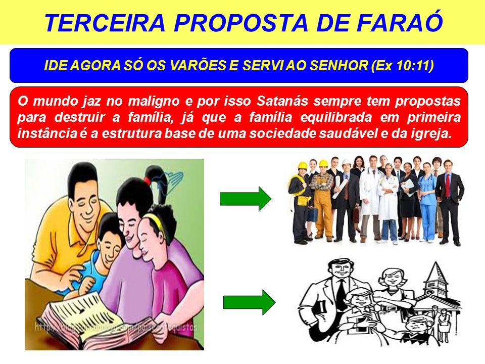 TERCEIRA PROPOSTA DE FARAÓ