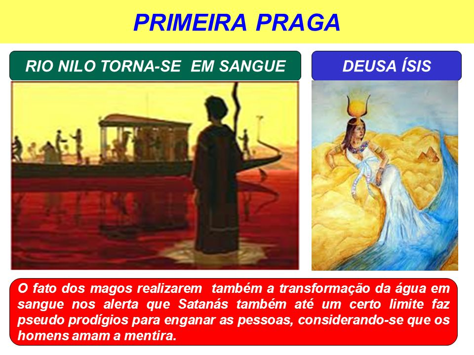RIO NILO TORNA-SE EM SANGUE
