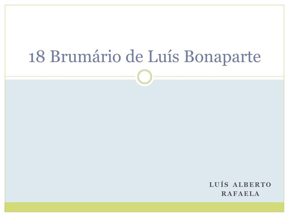 18 Brumário de Luís Bonaparte