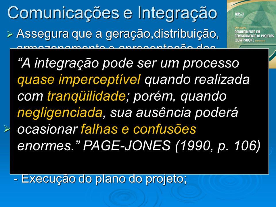 Comunicações e Integração