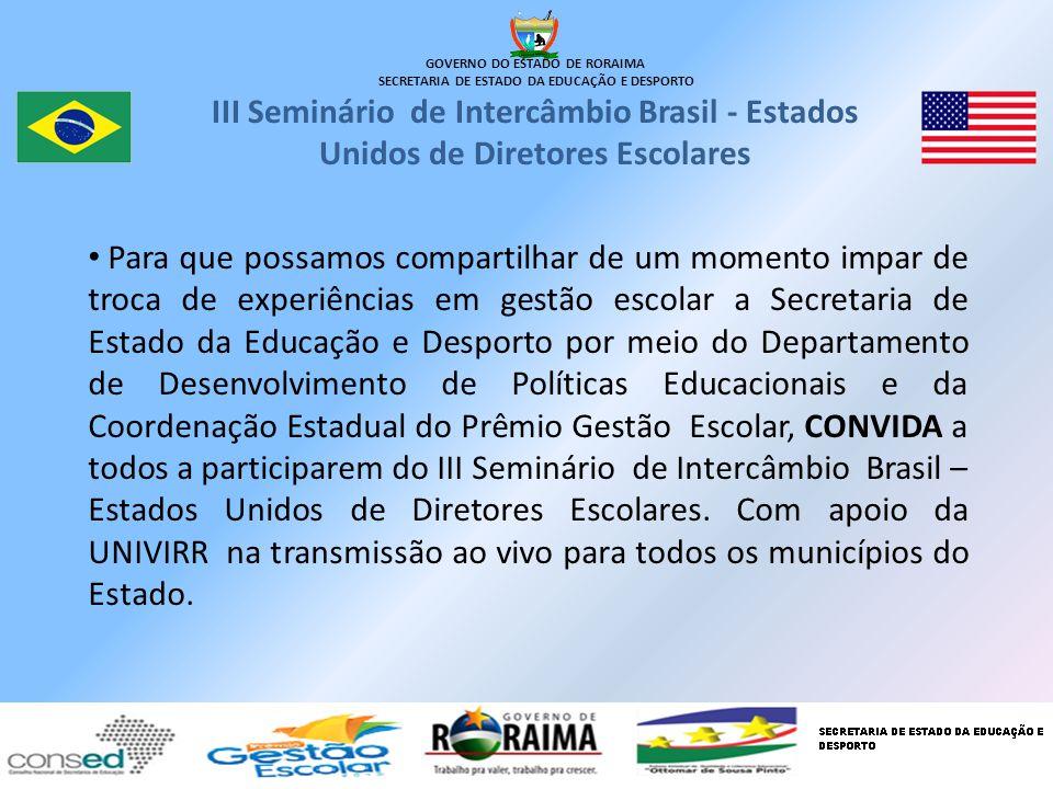 GOVERNO DO ESTADO DE RORAIMA