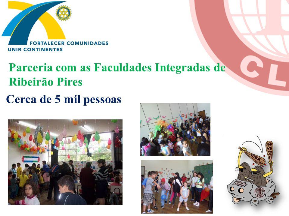 Parceria com as Faculdades Integradas de Ribeirão Pires