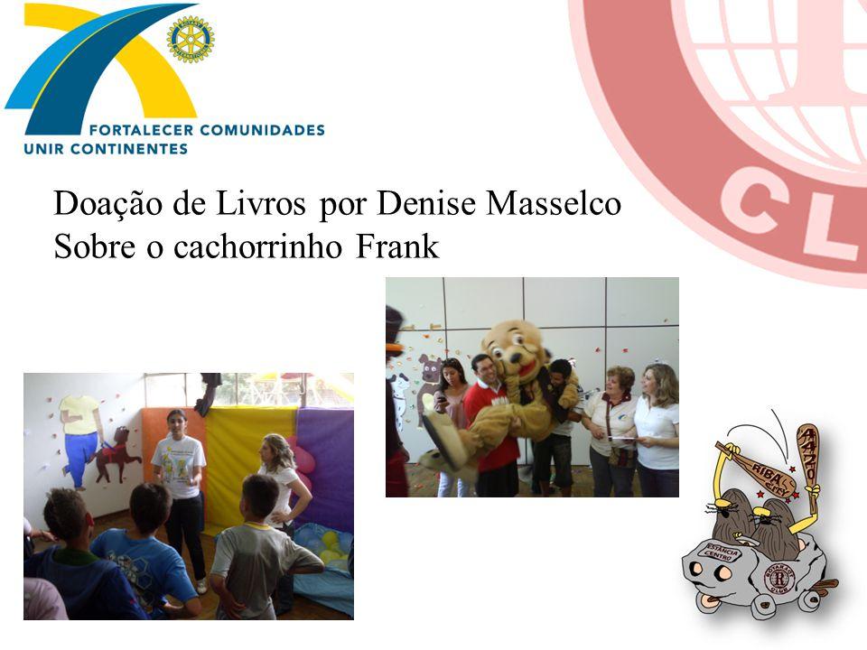 Doação de Livros por Denise Masselco