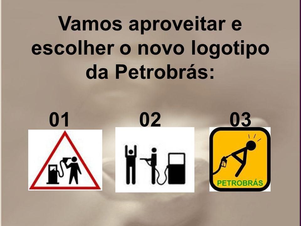 Vamos aproveitar e escolher o novo logotipo da Petrobrás: