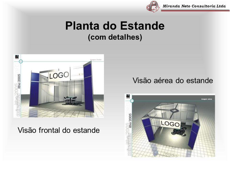 Planta do Estande (com detalhes)