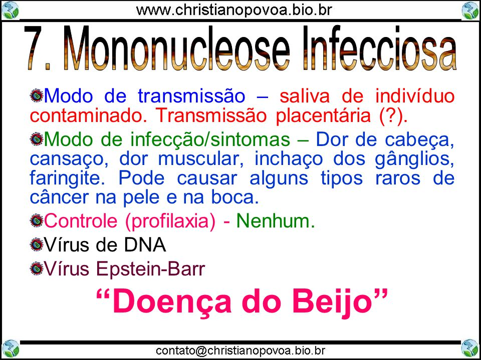 7. Mononucleose Infecciosa
