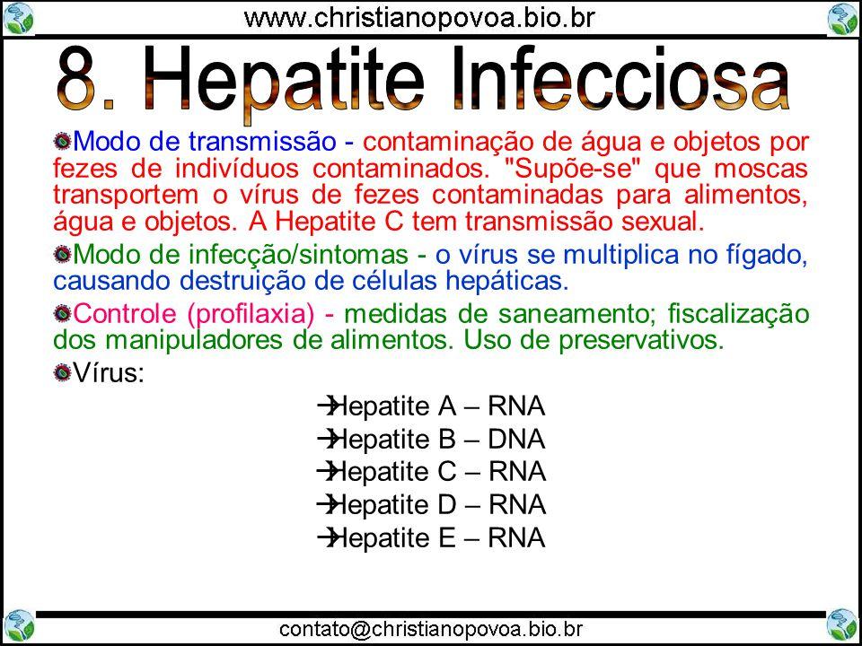 8. Hepatite Infecciosa