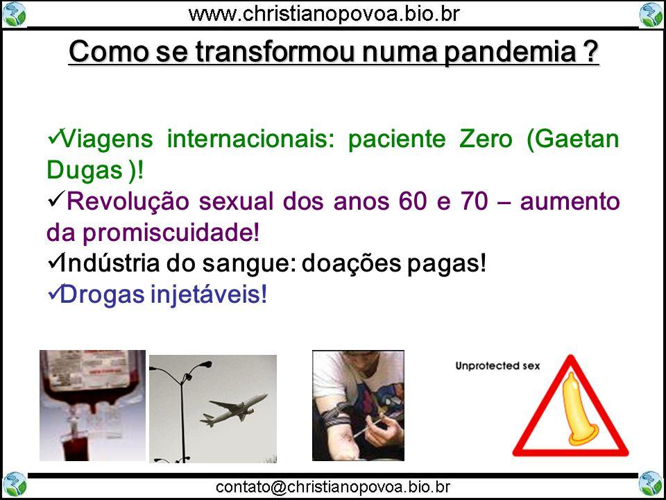 Como se transformou numa pandemia