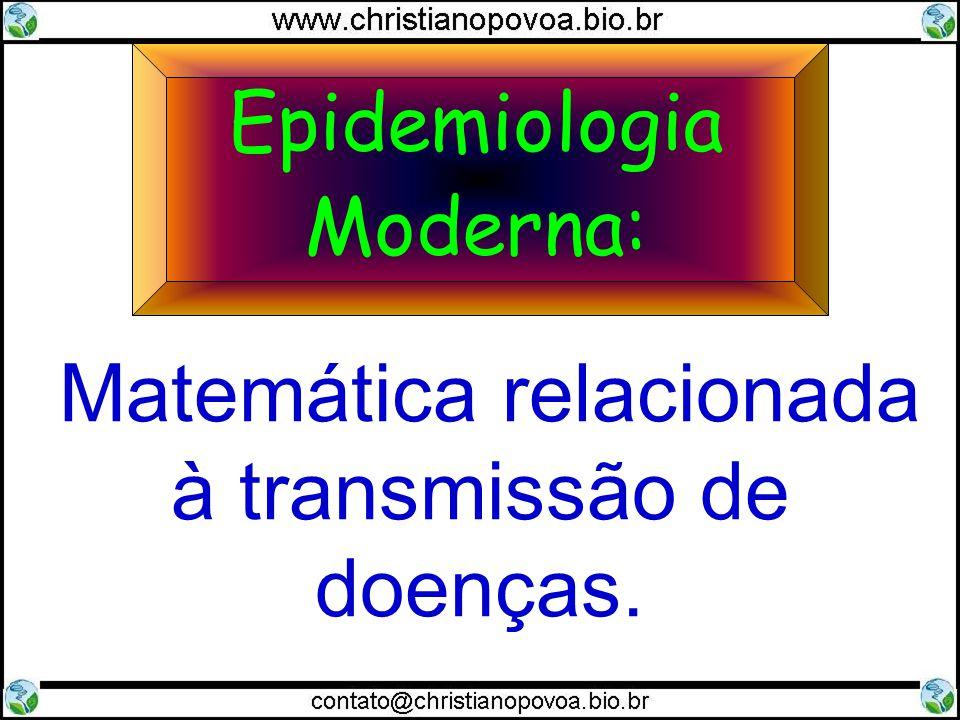 Matemática relacionada à transmissão de doenças.