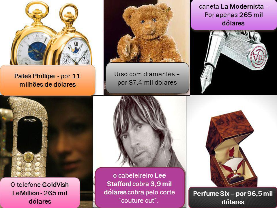 Perfume Six – por 96,5 mil dólares