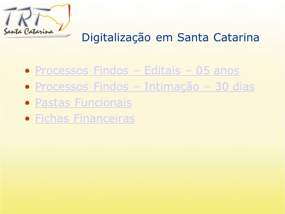 Digitalização em Santa Catarina