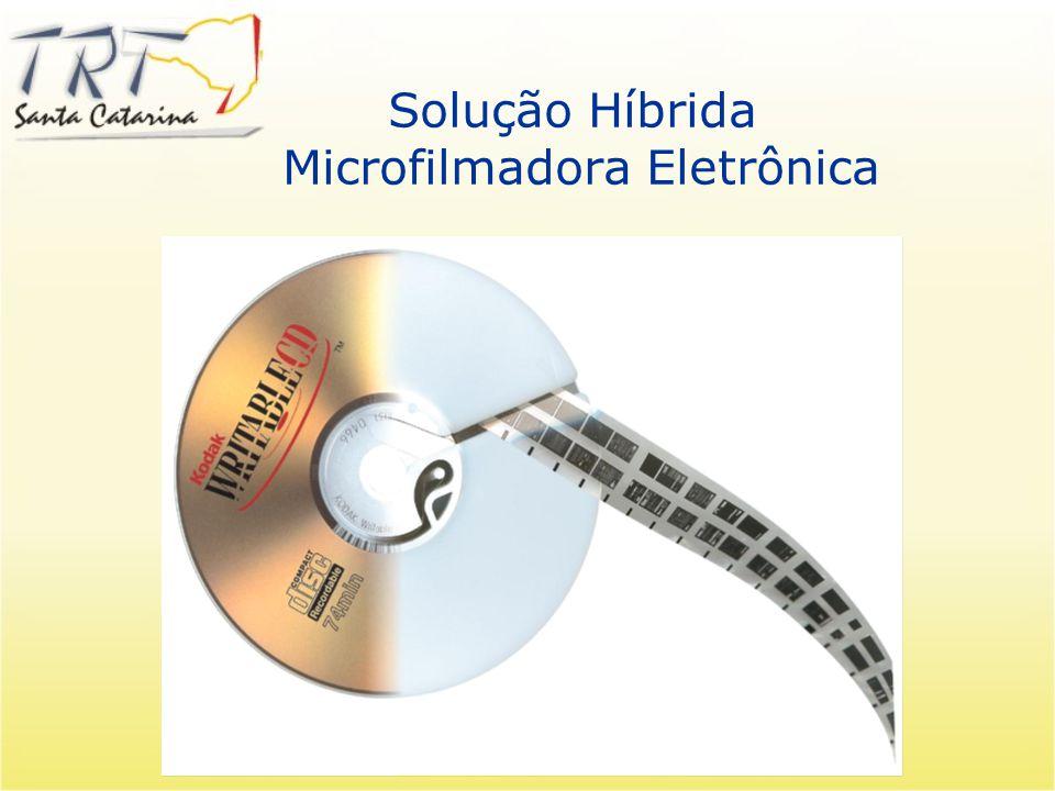 Solução Híbrida Microfilmadora Eletrônica