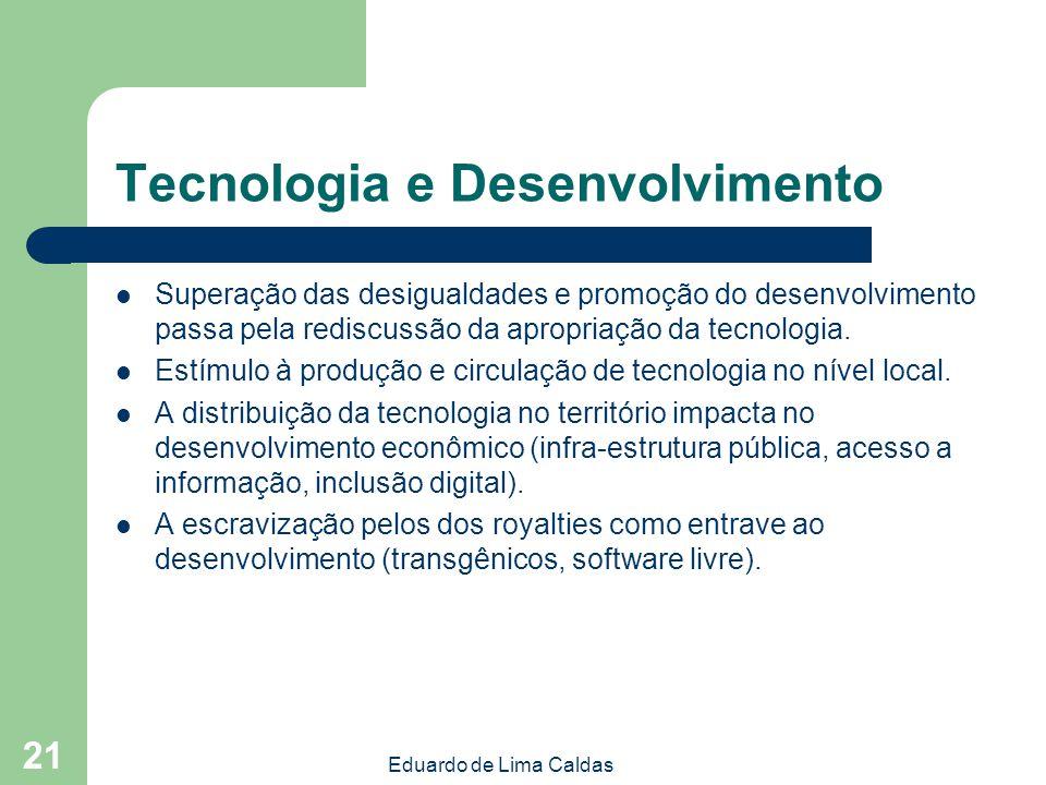 Tecnologia e Desenvolvimento