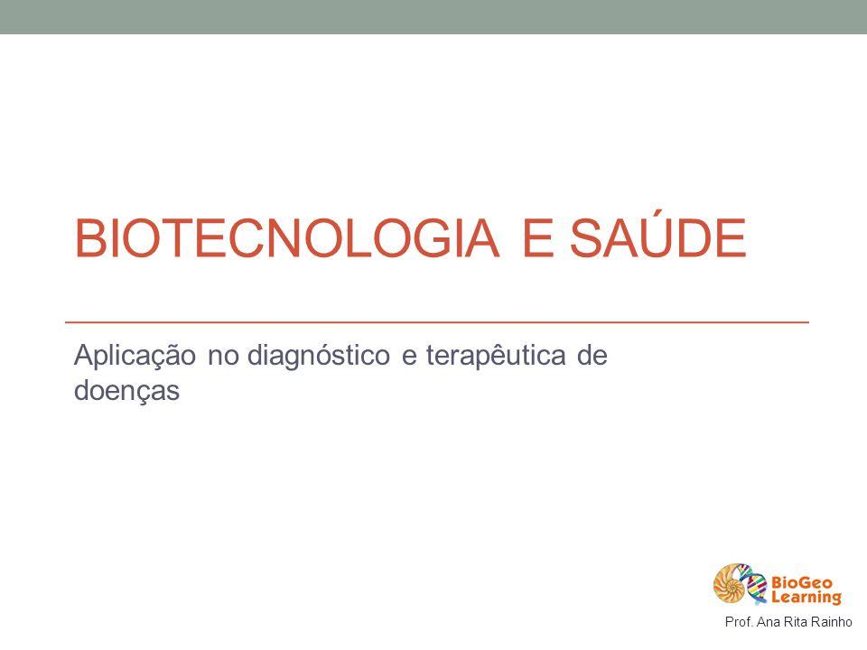 Aplicação no diagnóstico e terapêutica de doenças
