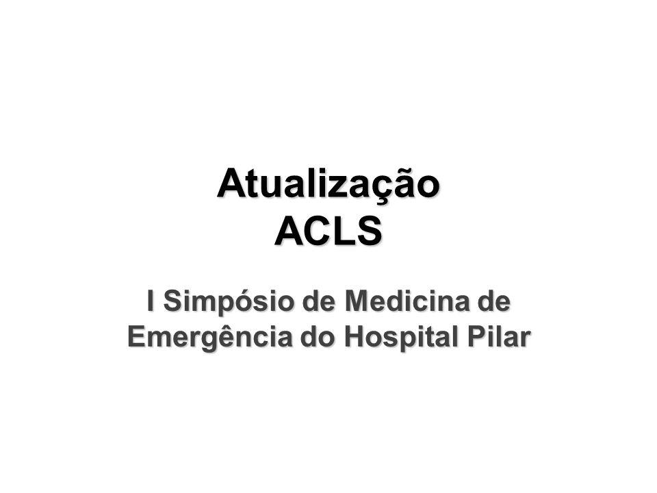 I Simpósio de Medicina de Emergência do Hospital Pilar