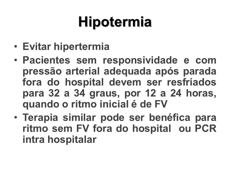 Hipotermia Evitar hipertermia