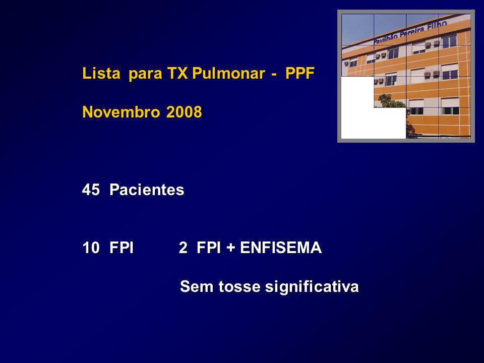 Lista para TX Pulmonar - PPF