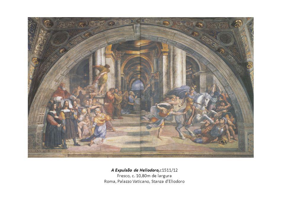 A Expulsão de Heliodoro,c1511/12 Fresco, c