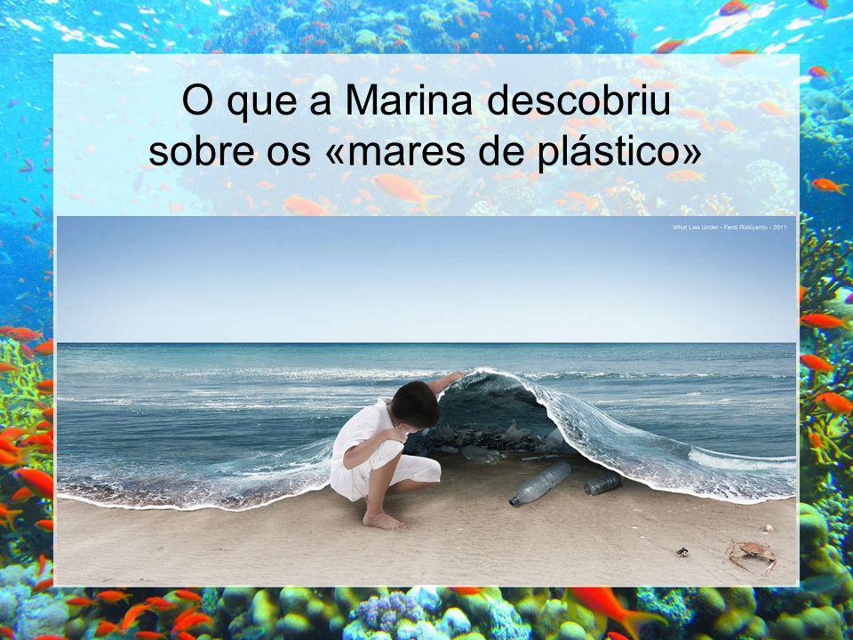 O que a Marina descobriu sobre os «mares de plástico»