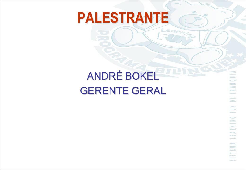 PALESTRANTE ANDRÉ BOKEL GERENTE GERAL