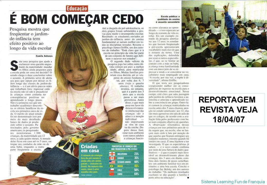 REPORTAGEM REVISTA VEJA 18/04/07