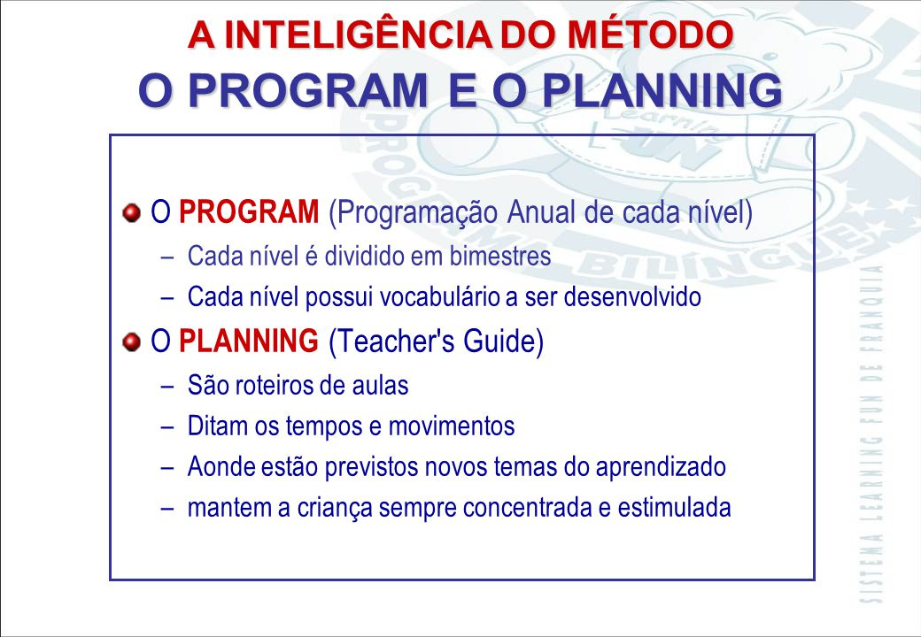 A INTELIGÊNCIA DO MÉTODO