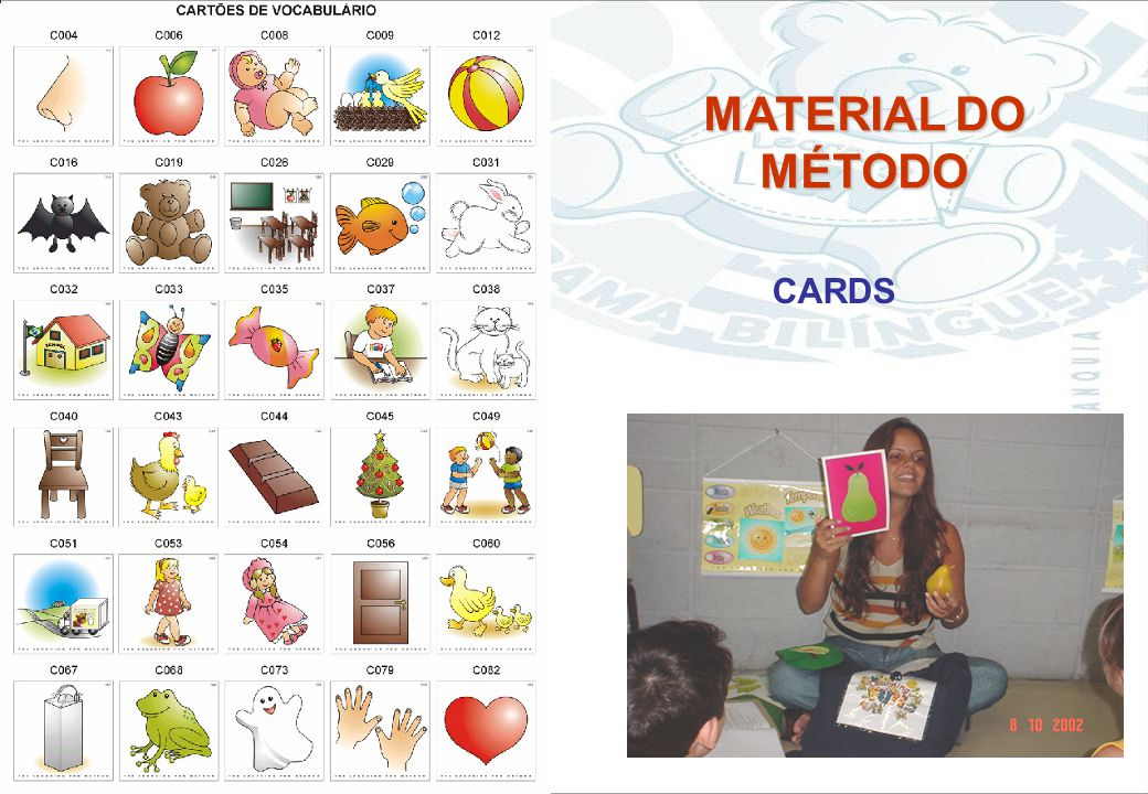 MATERIAL DO MÉTODO CARDS