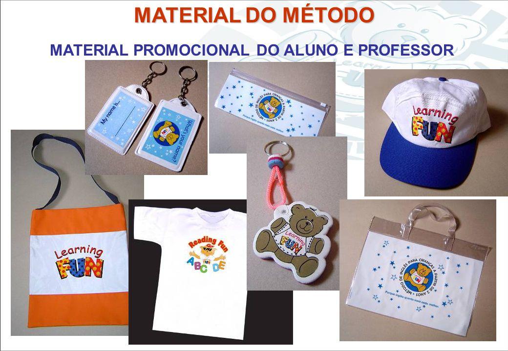 MATERIAL PROMOCIONAL DO ALUNO E PROFESSOR