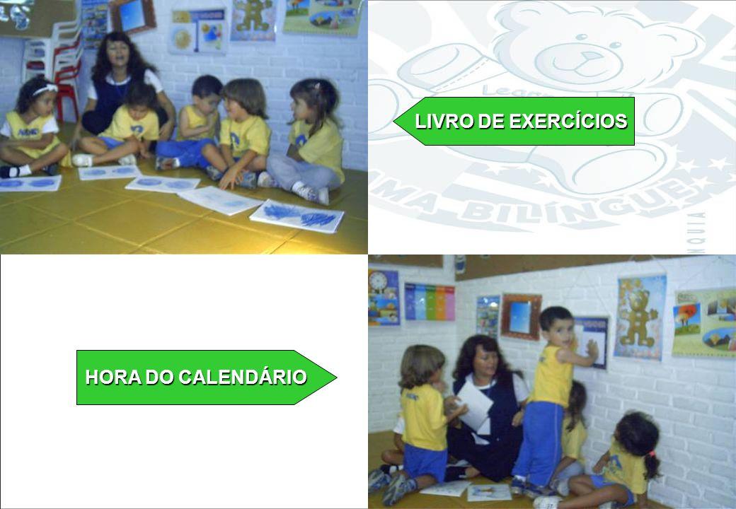 LIVRO DE EXERCÍCIOS HORA DO CALENDÁRIO