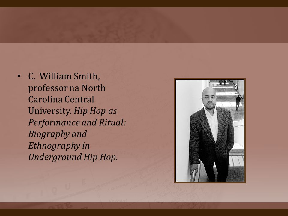 C. William Smith, professor na North Carolina Central University