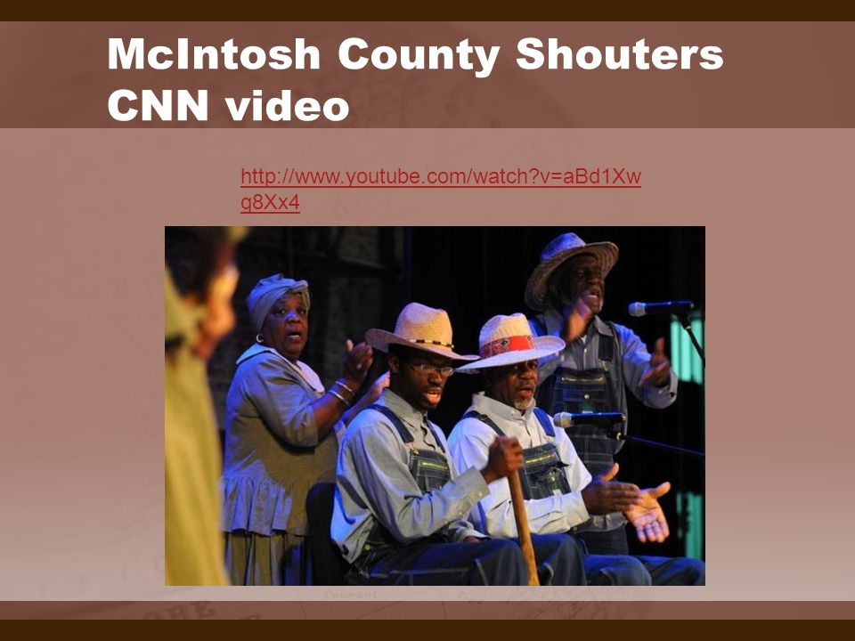McIntosh County Shouters CNN video