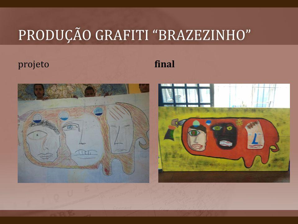 Produção grafiti brazezinho