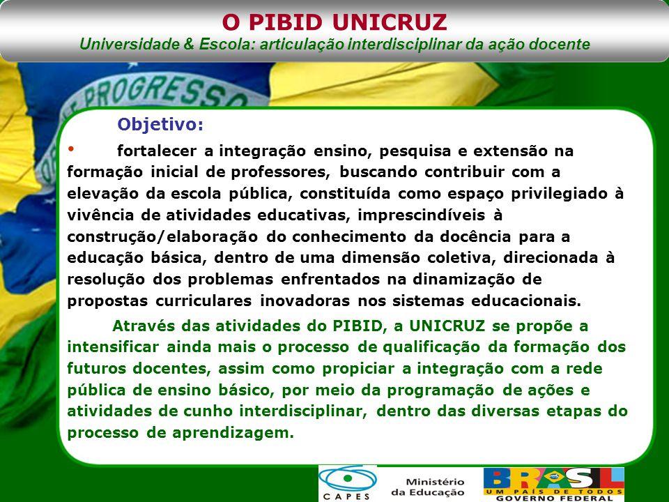 Universidade & Escola: articulação interdisciplinar da ação docente