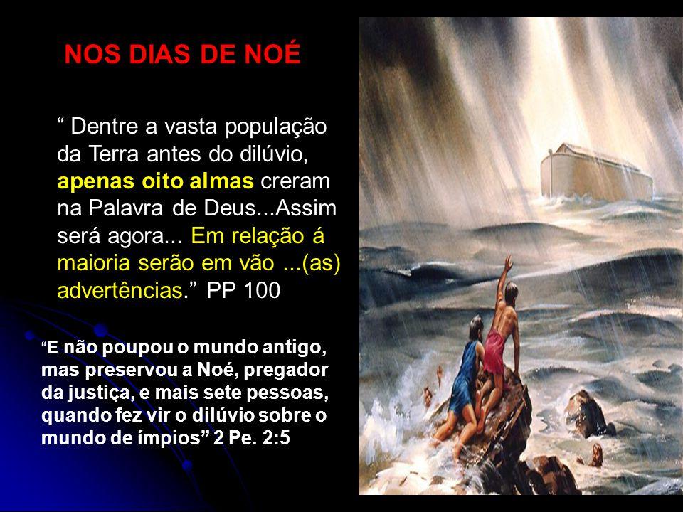 NOS DIAS DE NOÉ