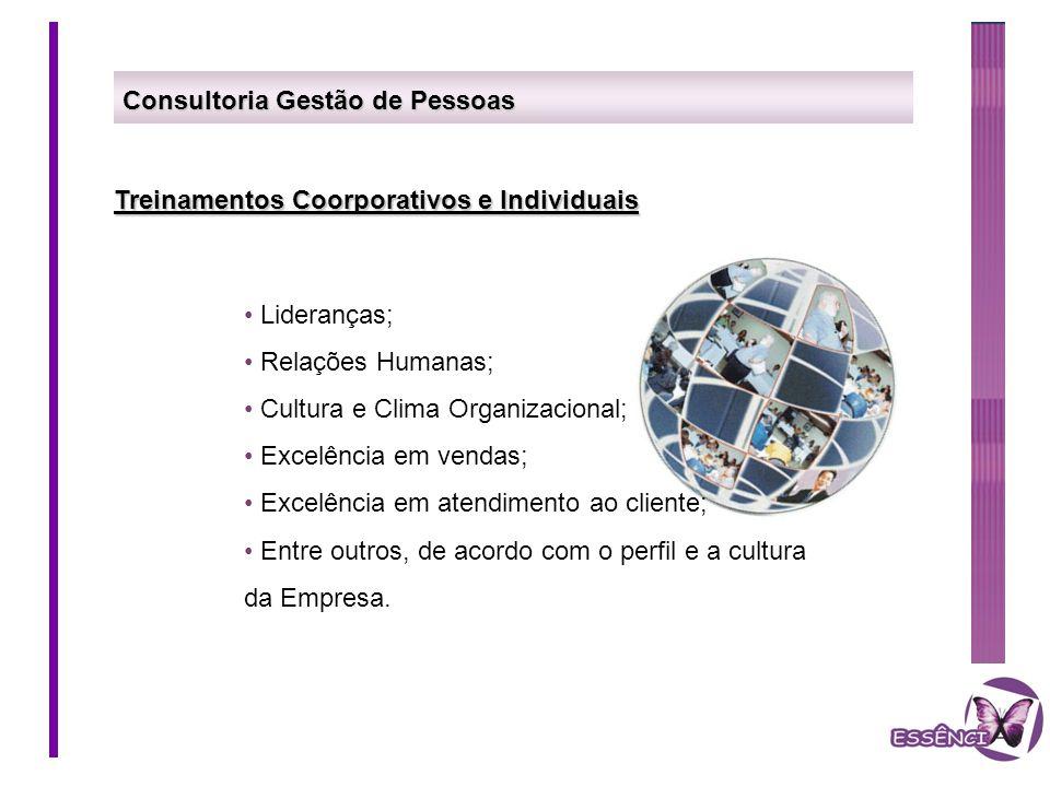 Consultoria Gestão de Pessoas