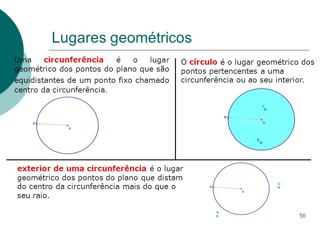 Lugares geométricos