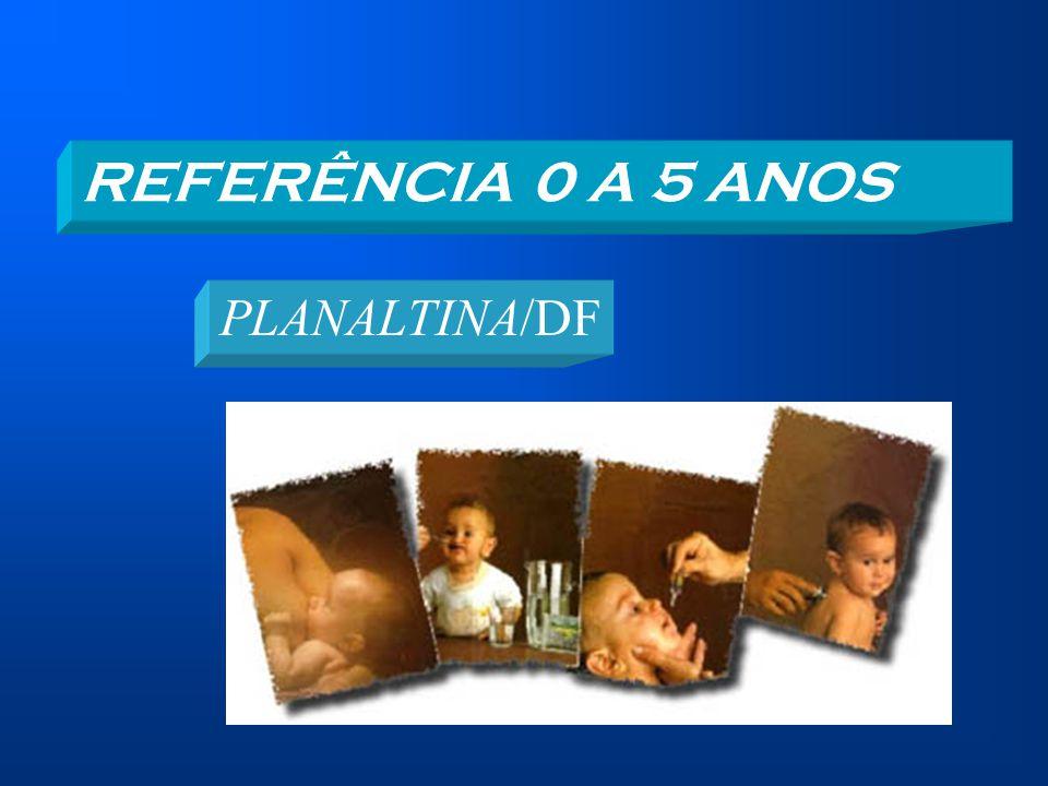 REFERÊNCIA 0 A 5 ANOS PLANALTINA/DF